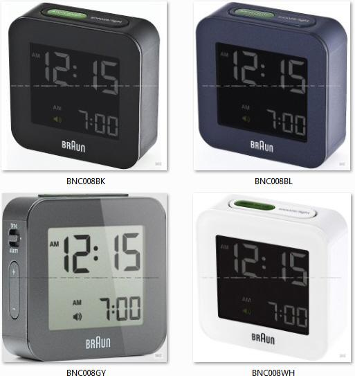 braun bnc008 digital travel alarm c end 8 20 2018 11 59 pm. Black Bedroom Furniture Sets. Home Design Ideas