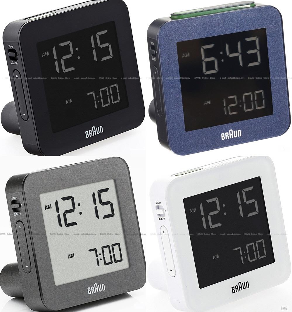 braun bnc009 digital travel alarm clock bnc009rc end 1 19 2016 9 39 00 pm. Black Bedroom Furniture Sets. Home Design Ideas