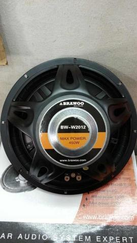 "Brawoo 12"" car woofer"