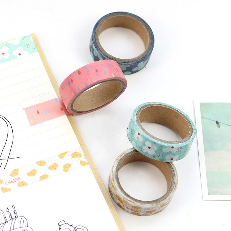 Breakfast Food Washi Tape
