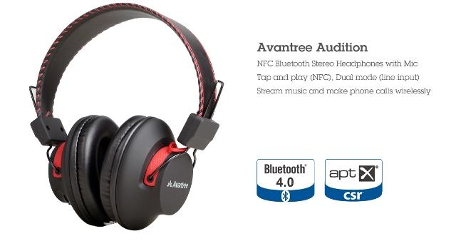 Brian Zone - Avantree Audition Bluetooth Stereo Headphones