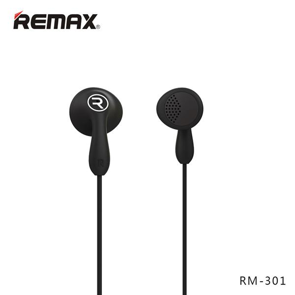 Brian Zone - Remax RM-301 Candy Headset (Black)