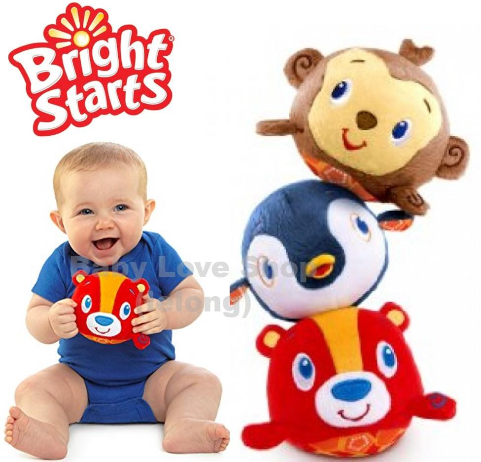 Bright Starts Toss n Tumble Pal Musical Plush Toy 1pc