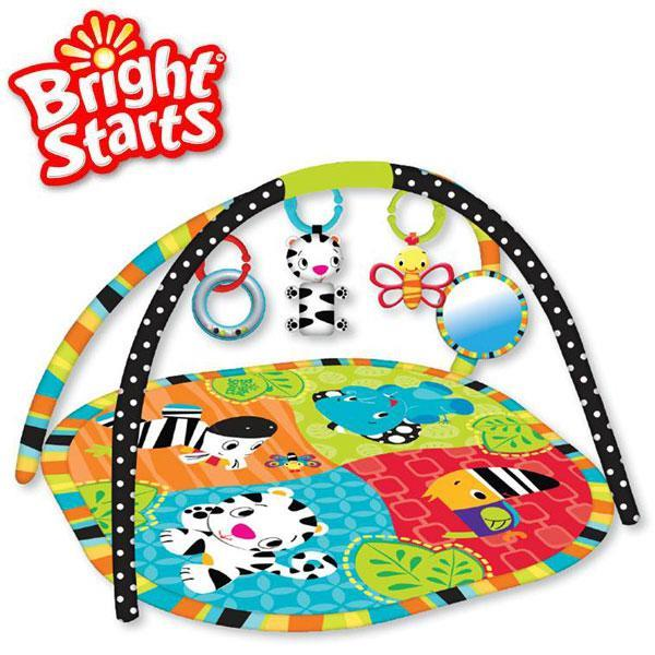 Tapis d veil zoo tails activity gym bright starts pictures to pin on pinterest - Tapis d eveil fisher price zoo deluxe ...