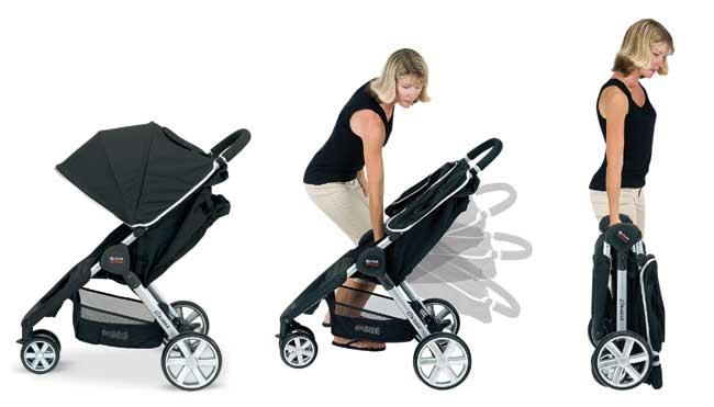 New Britax Agile Strolle End
