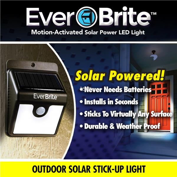 Ever Brite Solar Outdoor Motion Activated Lights everbrite