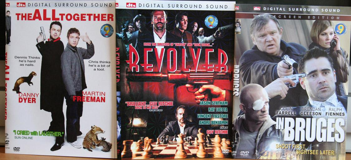 British Movie - 3 DVDs. Action Packed!