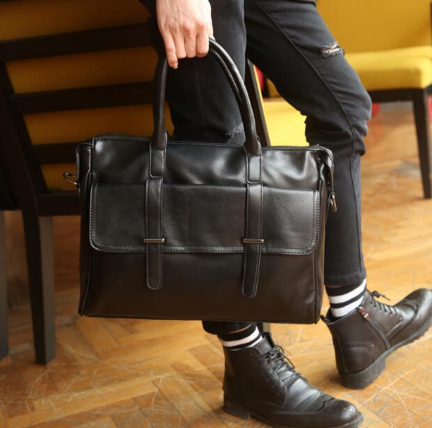 British retro trend of travel men's briefcase