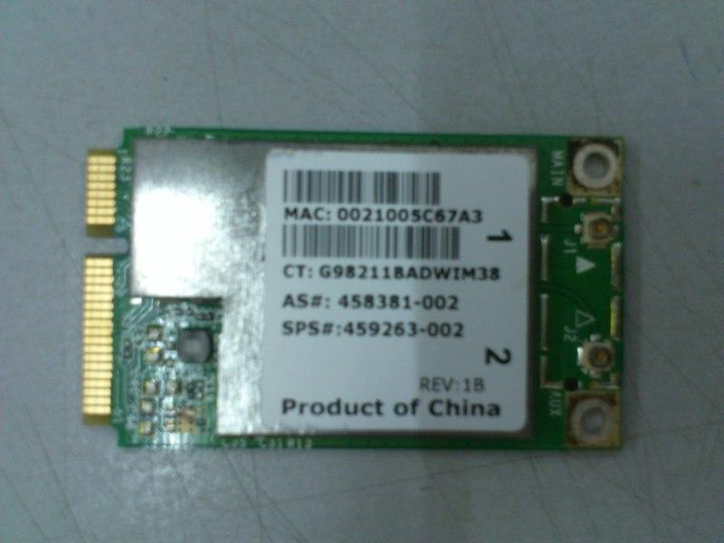 Broadcom BCM94312MCG PCI-E Wireless Card for Notebook CQ40 090713