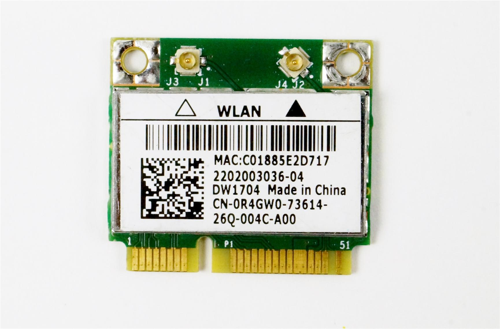 Broadcom BCM943142HM DW1704 Wireless WIFI+Bluetooth WLAN Card