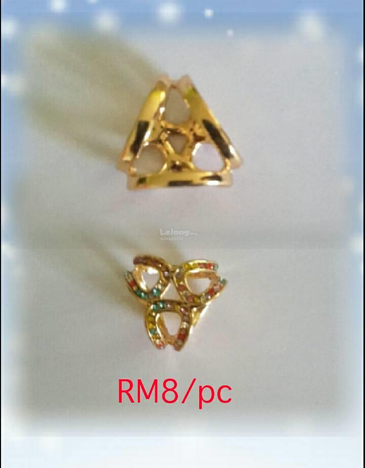 BROOCH RING KOREAN