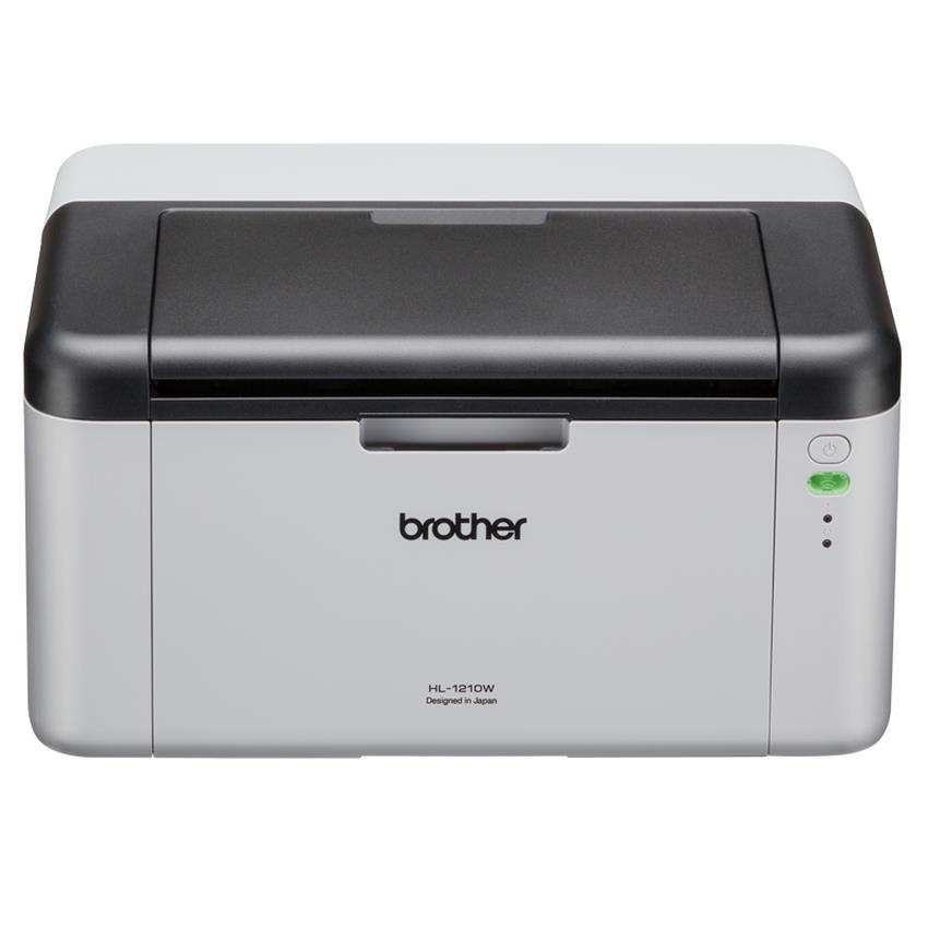 BROTHER HL-1110 COMPACT MONOCHROME LASER PRINTER WHITE 3 YEAR WARRANTY