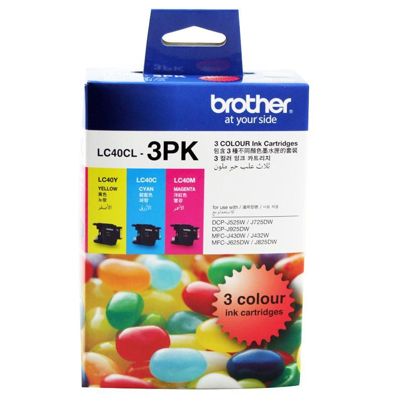 Brother LC-40CL3PK Colour Value Pack
