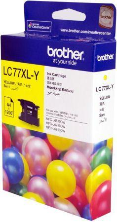 Brother LC-77 Yellow Ink (Genuine) MFC-J5910DW J6510DW J6910DW