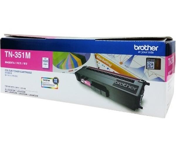 Brother Magenta Toner Cartridge TN-351M (Original)