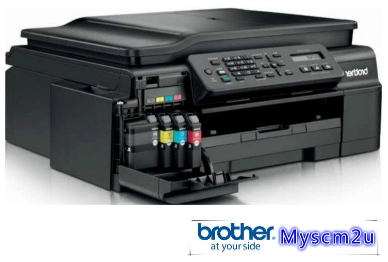 BROTHER MFC-J200 INKBENEFIT 4IN1 PRINTER PRINT SCAN COPY WIFI FAX 200