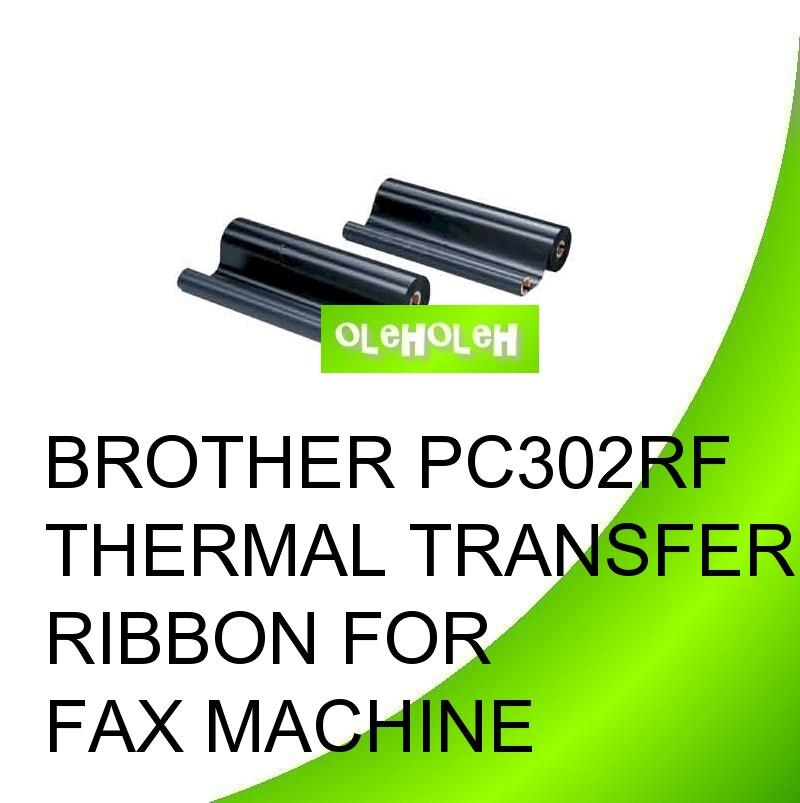 Brother PC302RF Thermal Transfer Ribbon for Fax Machine