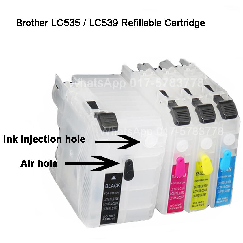 Brother Refillable Empty Cartridge L (end 1/16/2017 5:15 PM)