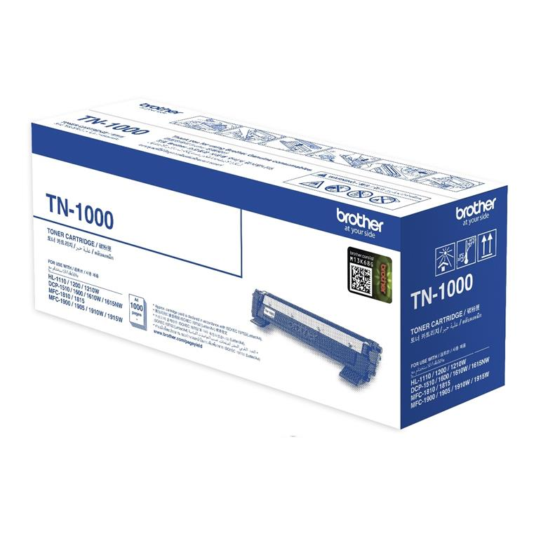 Brother TN-1000 HL-1110/1210W/DCP-1510/1610W/MFC-1810/1815/1910W