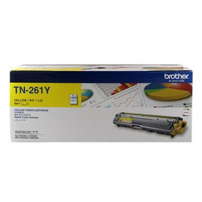 Brother TN-261Y (Yellow) HL-3150CDN, HL-3170CDW, MFC-9140CDN, MFC-9330