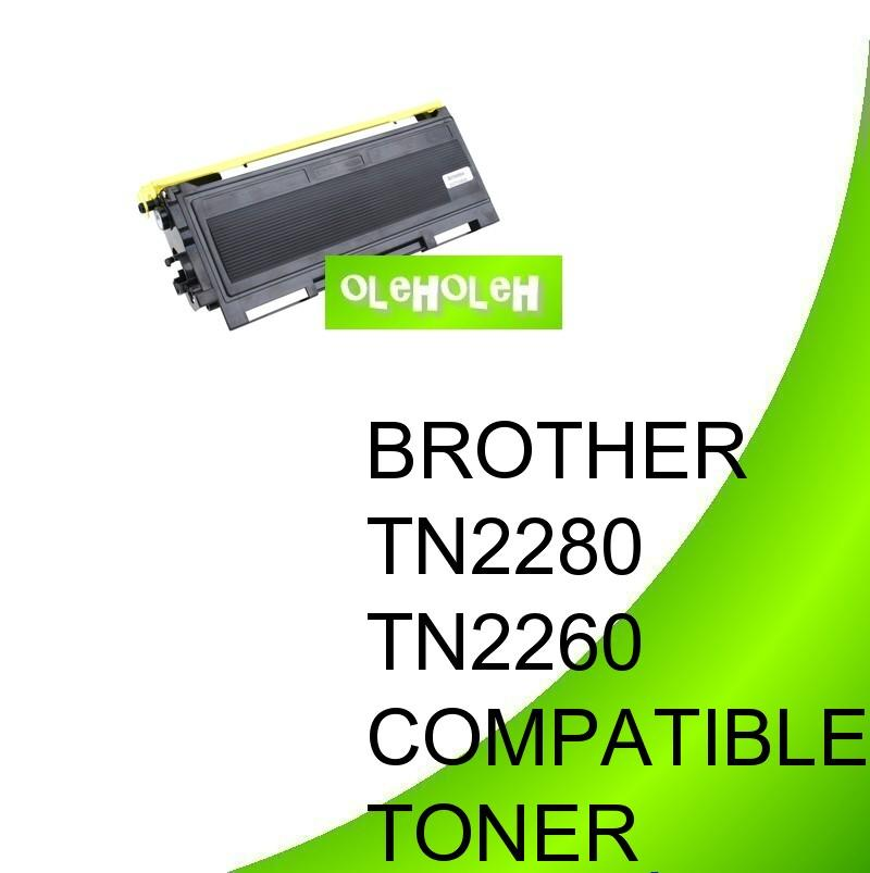 Brother TN2280 TN2260 Compatible Toner DCP7060d MFC7360 MFC7860dw