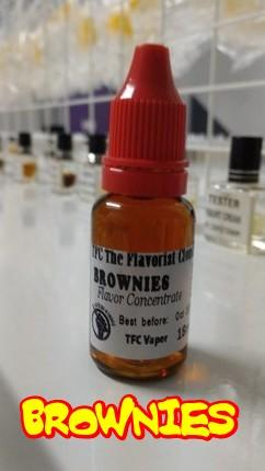 BROWNIES Flavour Concentrate / Essence for E-Liquid DIY 18ml
