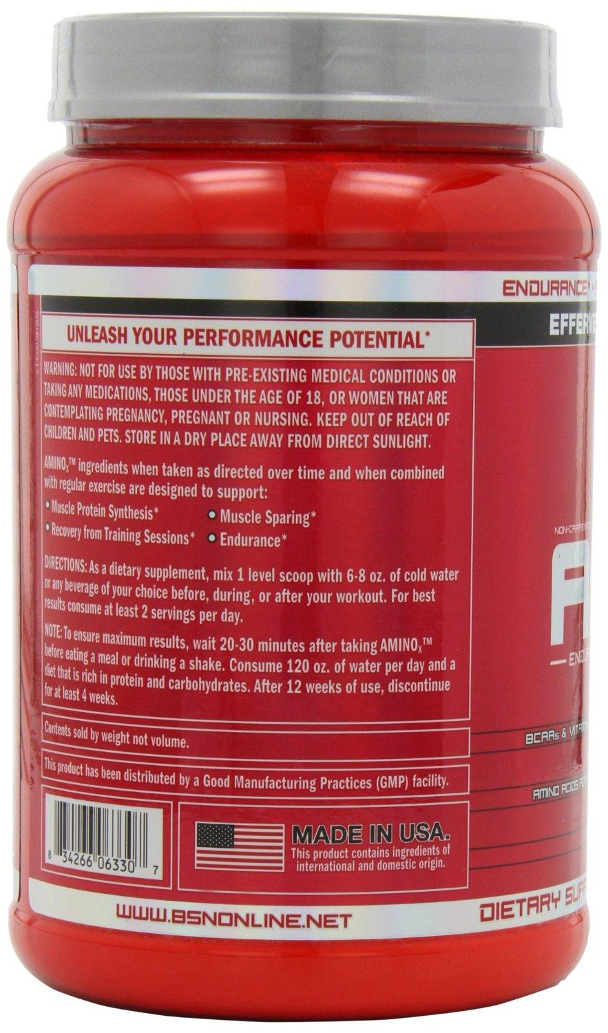 BSN Amino X 2.23 lbs (70 Servings) - Fruit Punch