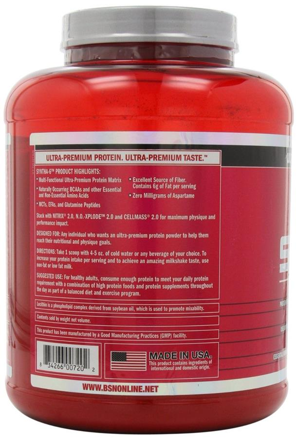 BSN Syntha-6, 5 lbs - Cookies & Cream