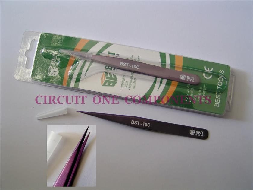 BEST BST-10C Tweezer - each