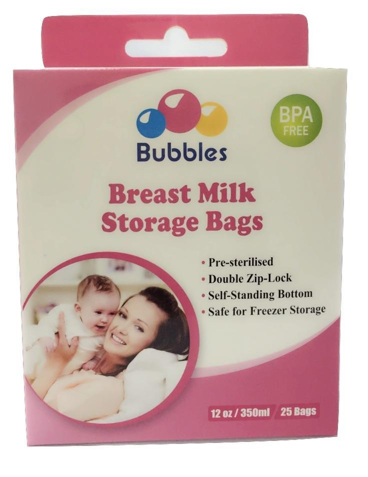 Bubbles Breast Milk Storage Bag 12oz/350ML 25Bags