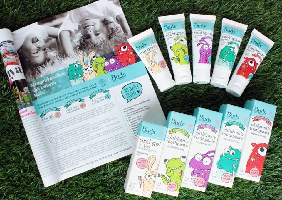 Buds Baby Organic Oral Gel & Toothpaste (Different Stage & Flavor)