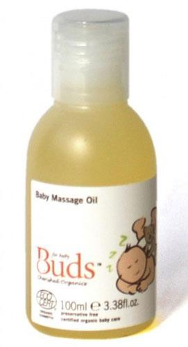 BUDS CHERISHED ORGANICS Baby Massage Oil 100g