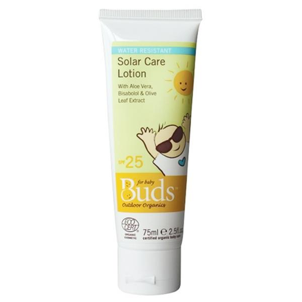 BUDS Everyday Organics Solar Care Lotion Size: 75ml