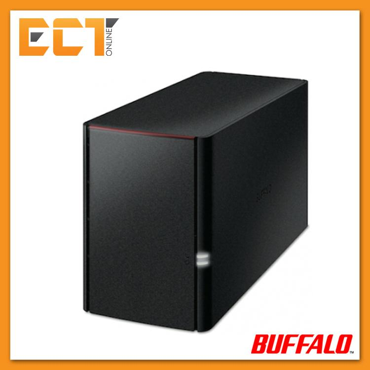Buffalo LS220D Link Station Personal Cloud Storage Dual Bay Enclosure