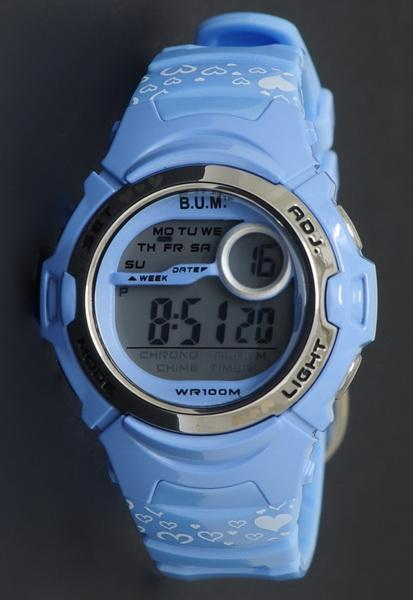 Bum Digital Watch 50 Meter BF10605