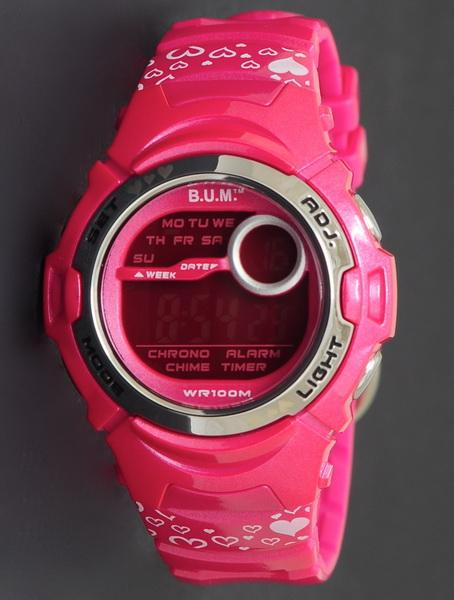 Bum Digital Watch 50 Meter BF10608