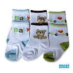 Bumble bee I love mommy 3 pair socks 0-12m