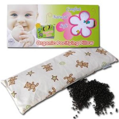 Bumble Bee Organic Pacifying Bean Sprout Pillow (FOC Extra Pillow Case