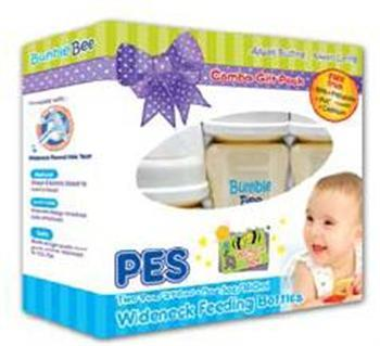 BUMBLEBEE PES Wide Neck Feeding Bottle Combo Set - Two 9oz + One 5oz
