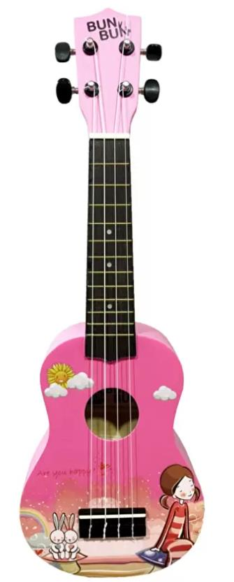 Bun Bun Couple (Girl) Soprano Ukulele Free Bag