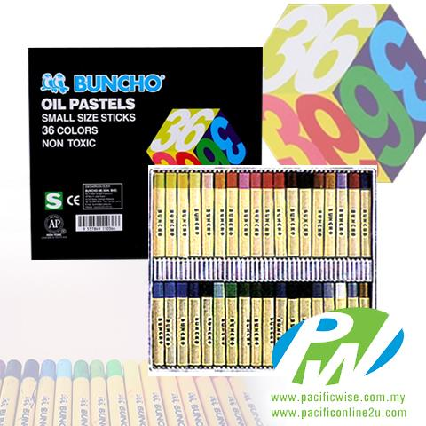 Buncho Oil Pastel Small Sticks 36 colors