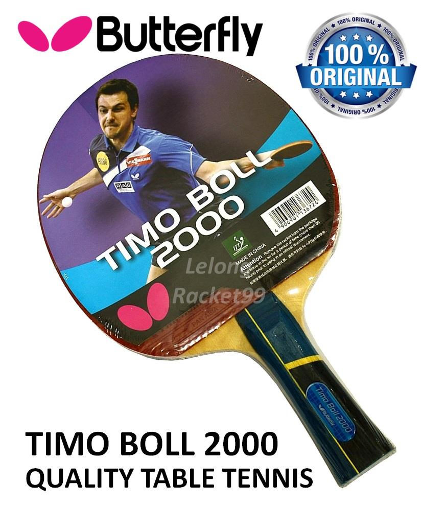 Butterfly timo boll 2000 shakehand end 12 26 2017 4 15 pm for Table tennis 99