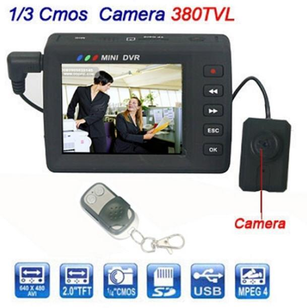 Button Camera with LCD (WBC-01A)▼