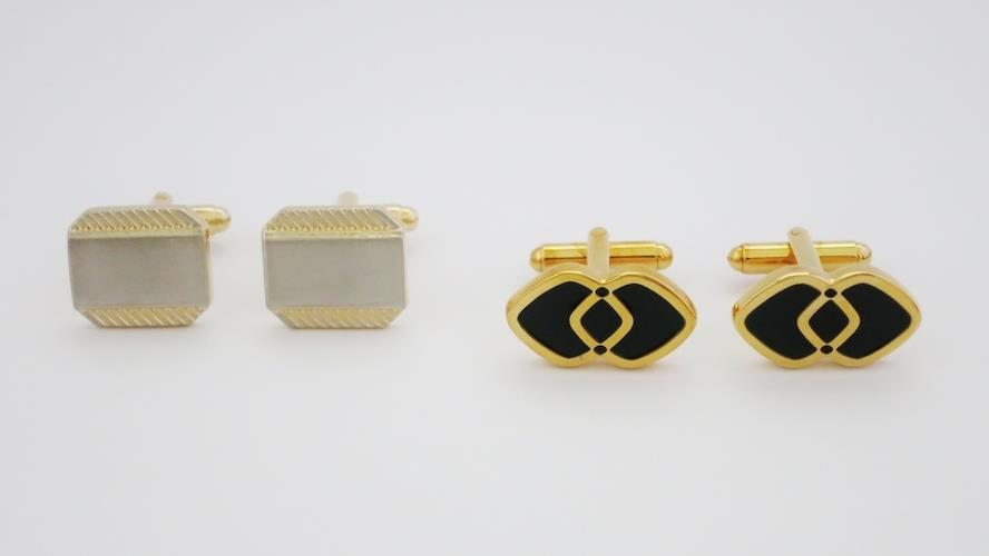 [Buy 2 in 1 Price] Double Happiness Cufflinks Set 13