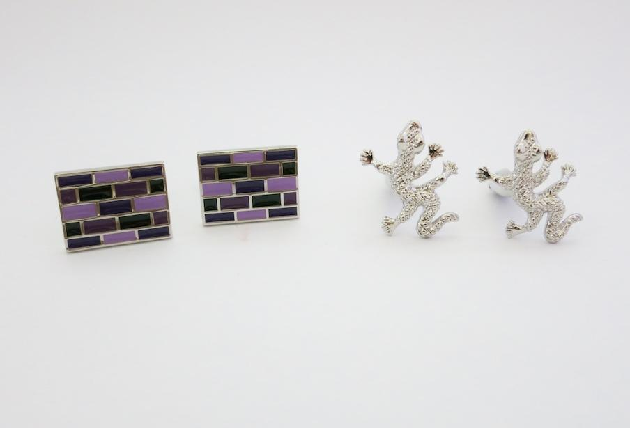 [Buy 2 in 1 Price] Double Happiness Cufflinks Set 6