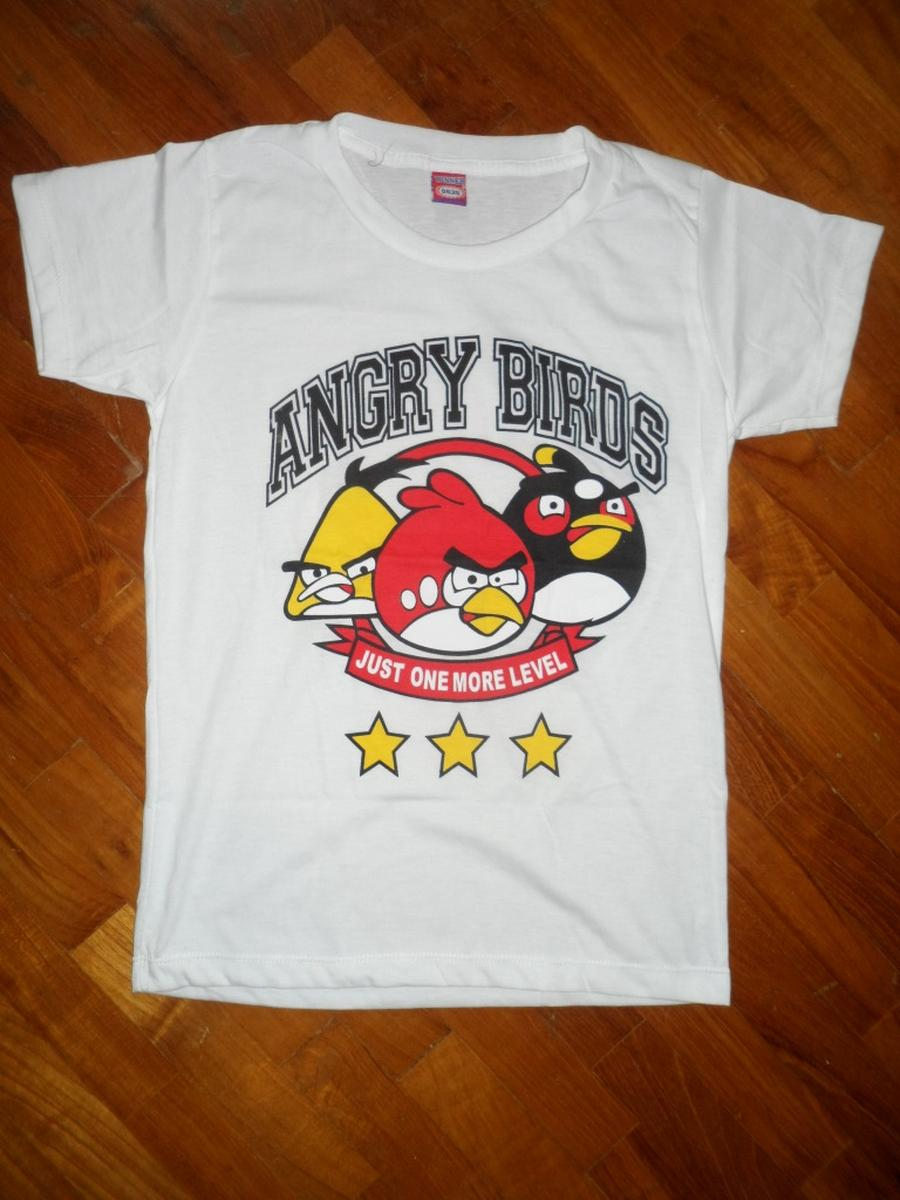 (Buy more than 3 Free Postage Fees !!!)Girl 'Angry Bird Just one more ..
