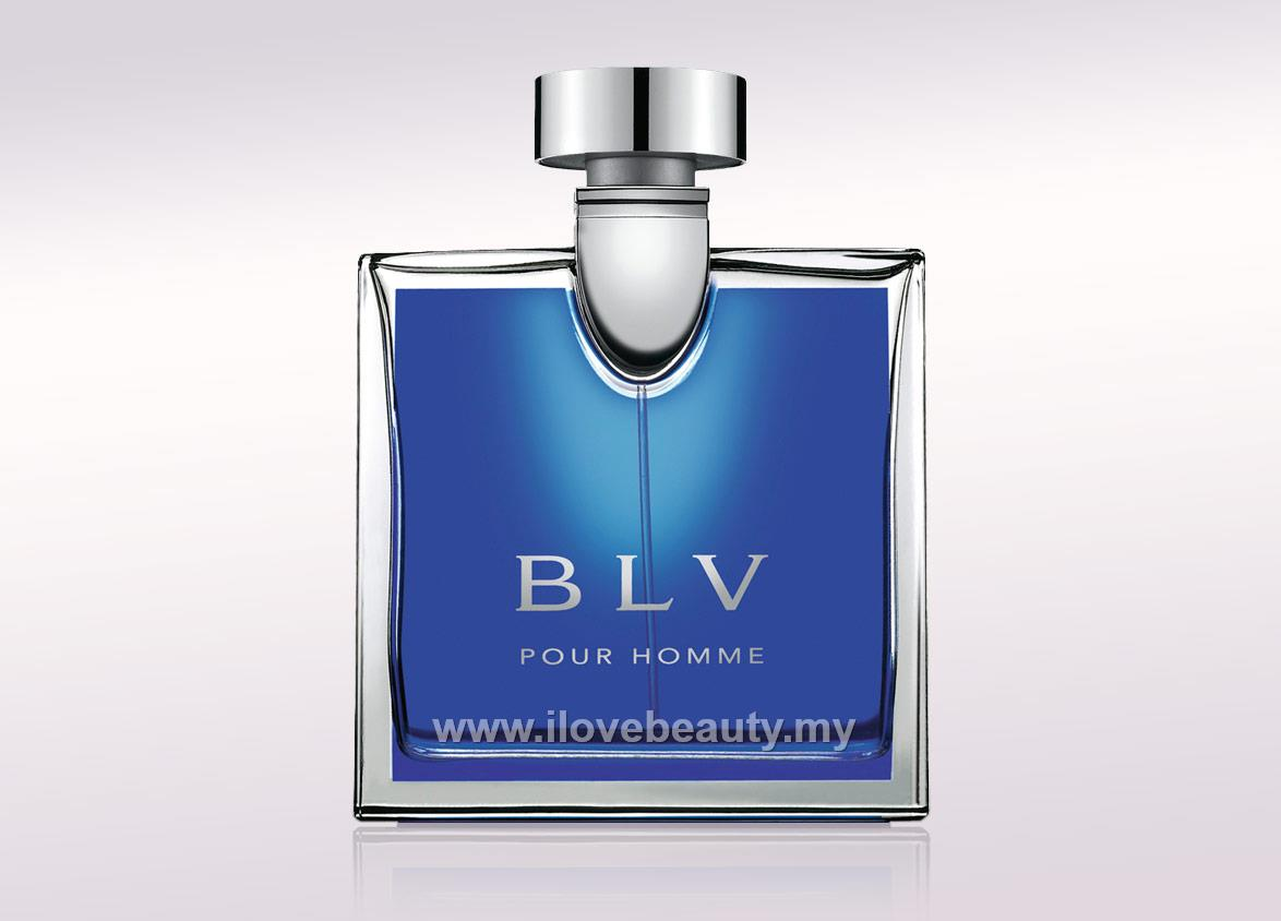 BVLGARI BLV POUR HOMME - MEN EDT 100ml ( TESTER PERFUME With Cap )