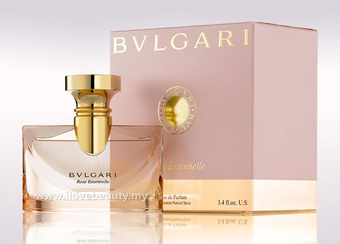BVLGARI ROSE ESSENTIELLE - WOMEN EDP 100ml *** ORIGINAL PERFUME ***