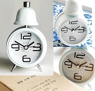 C004 Korean Metal Bell Alarm Clock-Gift