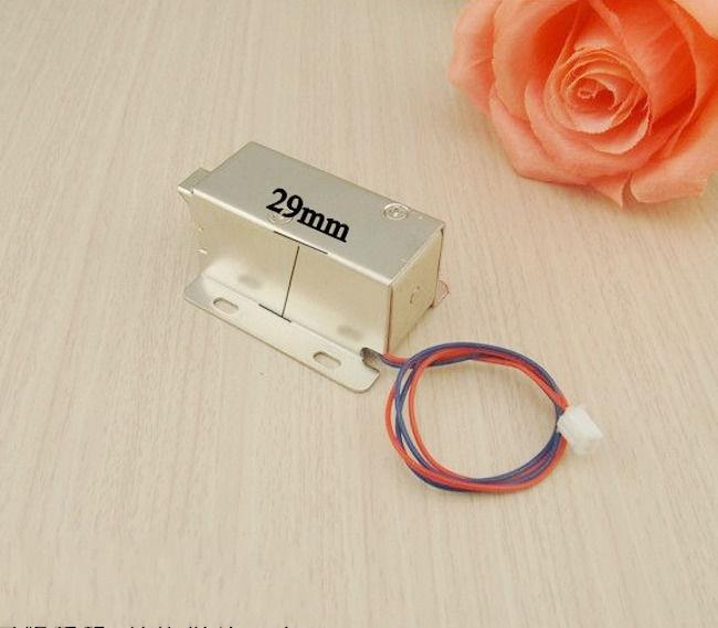 Cabinet Door Electric Lock Assembly Solenoid DC 12V